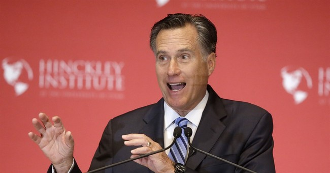 Mitt Romney Encourages People To Go And Vote--For Everything But President