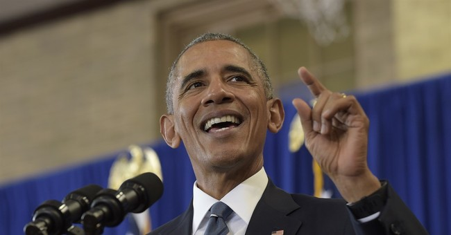 """Thanks Obama"": President Pats Himself on the Back in Last ACA Pitch"