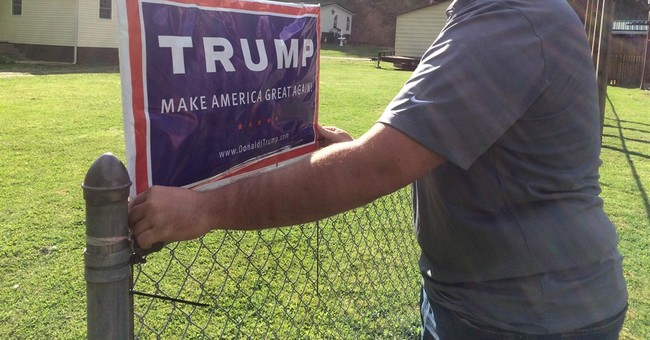After They Put Up a Trump Yard Sign, Their HOA Targeted Them