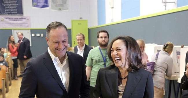 Kamala Harris's Husband Introduced Himself in a Rather Telling Way