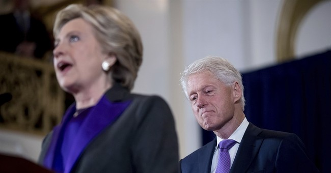 Bill Clinton Blames Comey, 'Angry White Men' for Wife's Loss