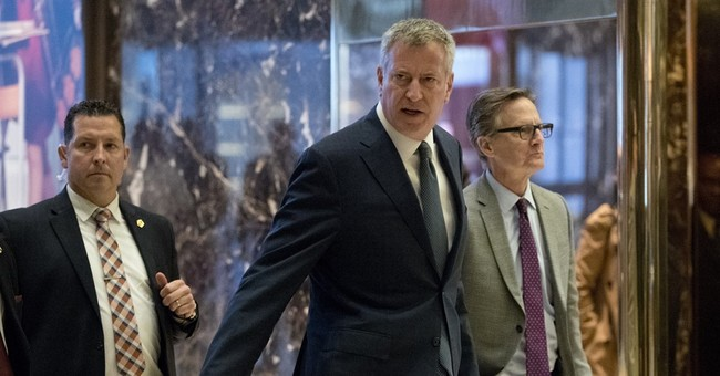 De Blasio Says 'The Ball's In His Court' After Meeting With President-elect Trump On Immigration