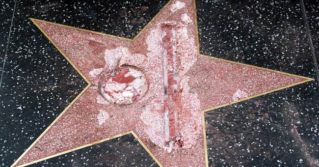 Person Who Destroyed Trump's Star on Hollywood Walk Of Fame Charged With Felony