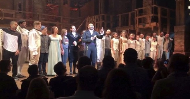 Cast of Hamilton Issues Statement To Mike Pence After Show
