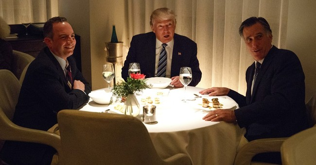 Trump and Romney Met for Dinner