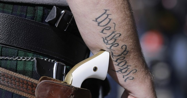 Gun Rights Activists In Newport News Stage Rally