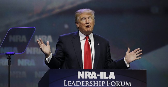 Trump to Be First President Since Reagan to Address NRA Forum