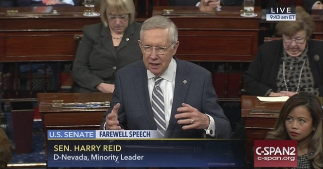 NYT: Dying of Cancer, Harry Reid Doesn't Regret His 2013 'Nuclear Option'