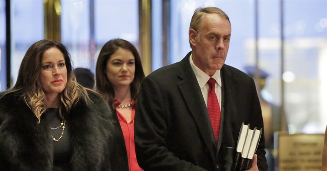 Ryan Zinke Officially Nominated For Interior Secretary
