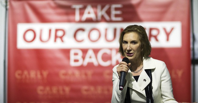BREAKING: Carly Fiorina Suspends Campaign