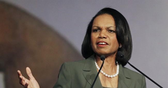 Condoleezza Rice calls Vladimir Putin's interference in election 'personal'