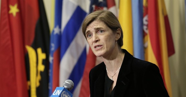 Judicial Watch Sues for Samantha Power's Unmasking Requests