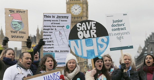 The UK's NHS Hit By Cyberattack