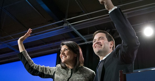 As Rubio Leads Fight For Second Place, Senator Says The Children Of Reagan Are Ready To Lead