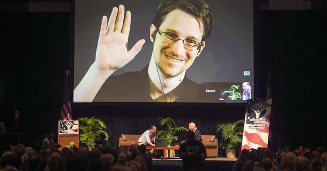 Gary Johnson: Yeah I'd Probably Pardon Edward Snowden