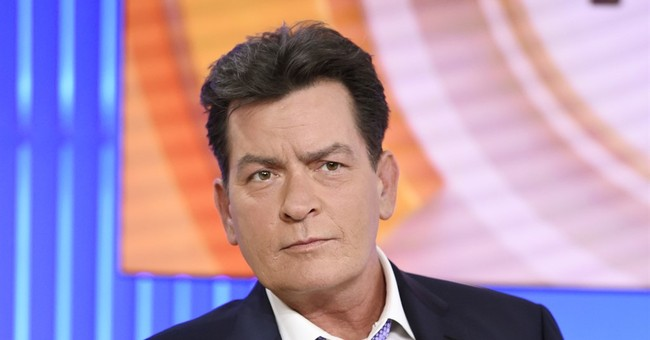 Charlie Sheen Claims Trump Gave Him Fake Diamond Cufflinks For A Wedding Gift