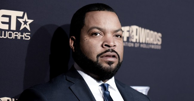 WATCH: Ice Cube Says He's Not 'Playing Politics' By Working with Trump on Reforms for Black America