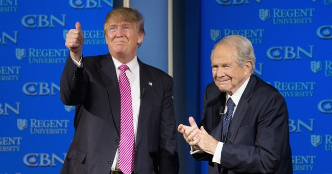 Trump Sits Down With Pat Robertson, Explains Why We Need Relationship With Putin
