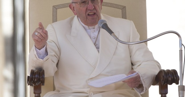 Pope Francis: There's an Arab Invasion of Europe
