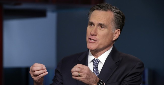 Bloomberg News: So, Romney Is Giving A Third Party Bid Another Look