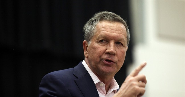 Kasich Tells Everyone to 'Take a Chill Pill', He Wasn't Serious About Nominating Merrick Garland
