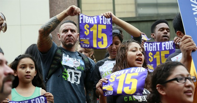 'Fight for 15' Fail: Employer Survey Confirms Minimum Wage Hikes Harm Workers and Consumers