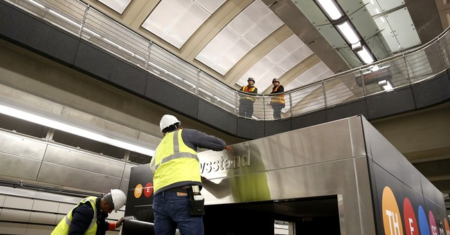 New York trains roll on new subway line envisioned in 1920s
