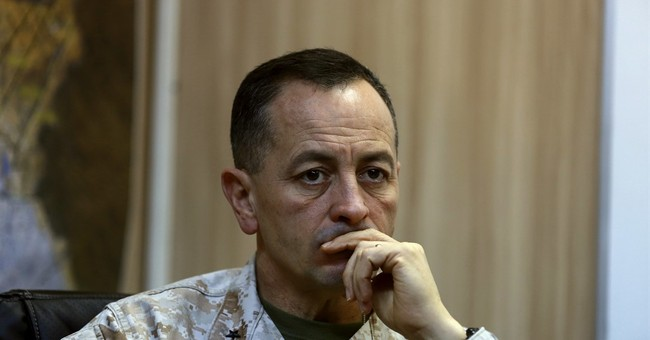 US general praises Iraqi forces fighting in Mosul