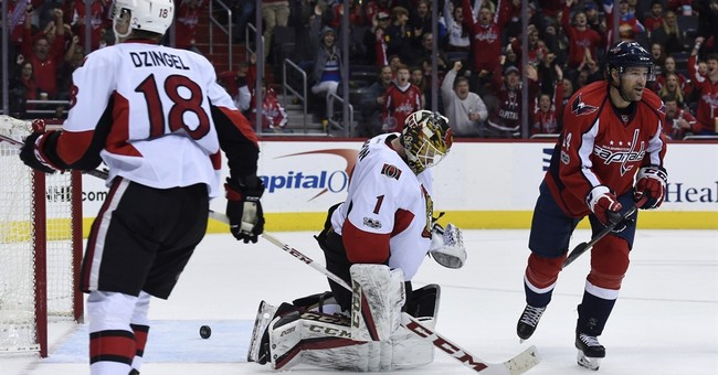 Defenseman Taylor Chorney scores, Capitals beat Senators 2-1