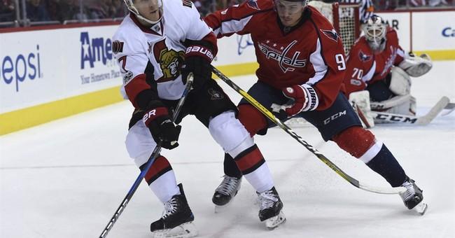 Defenseman Taylor Chorney scores, Capitals beat Senators 2-1