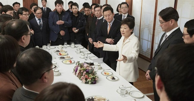Impeached S. Korean leader rejects accusations against her