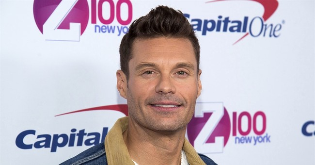 Ryan Seacrest gets stuck in Times Square elevator, rescued