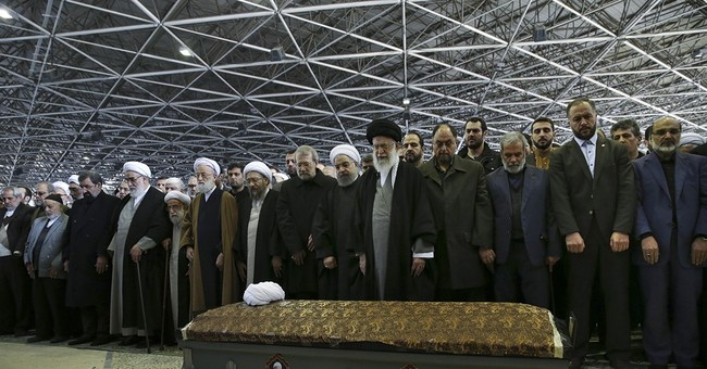 Iranians mourn as former leader Rafsanjani interred