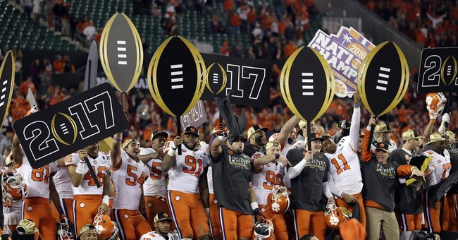 TV ratings dip for CFP championship on ESPN; streaming up