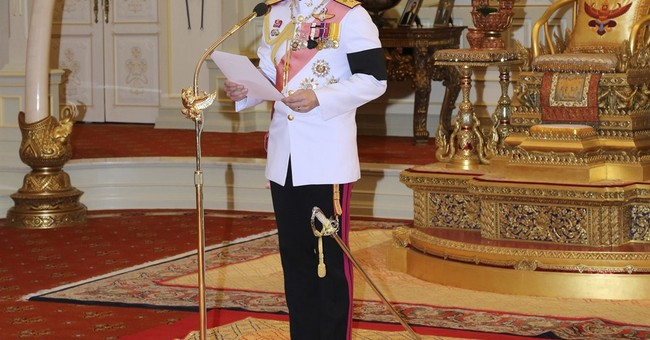 Thai PM says king seeks change in pending constitution