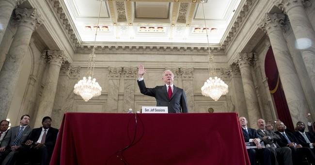 I'd stand up to Trump as AG, Sessions tells senators