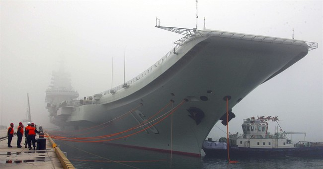 Taipei: Chinese aircraft carrier transiting Taiwan Strait