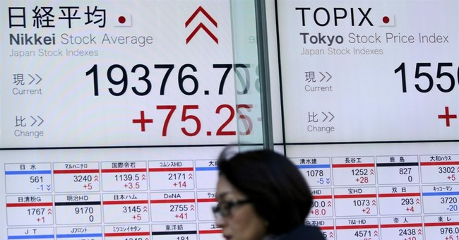 Global stocks edge up as investors look to Trump remarks