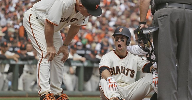 Buster Posey placed on seven-day concussion disabled list