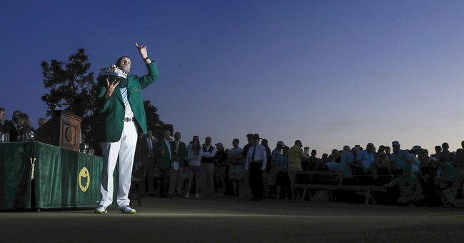 A long, tearful road to a major for Sergio Garcia