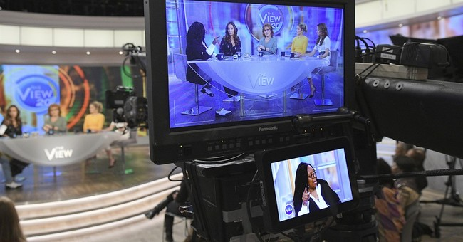 Political talk helping 'The View' to comeback
