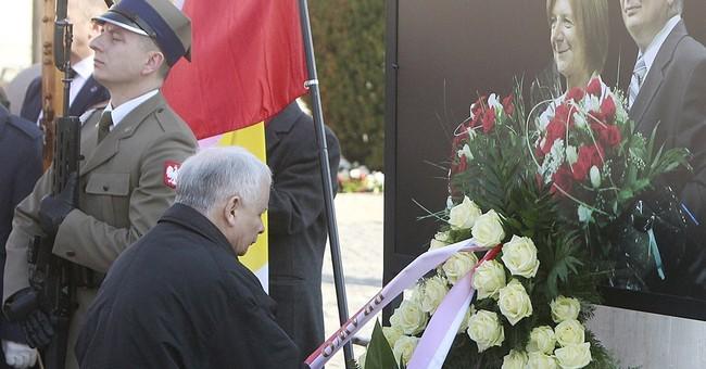 Poland marks anniversary of president's death in plane crash