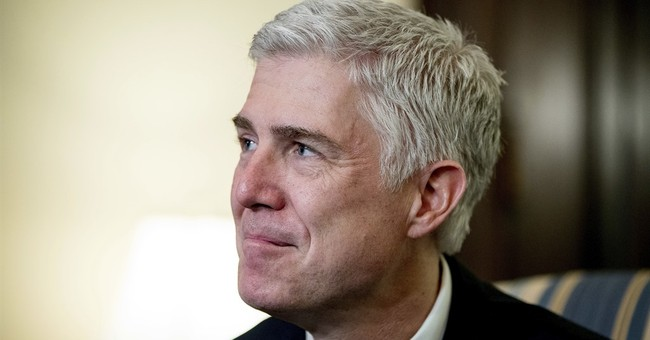 Gorsuch pledges to be 'servant' of Constitution