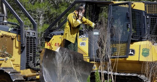 Wildfires scorch parts of Florida; gov. declares emergency