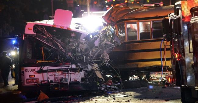 US regulators: Students at risk in Baltimore school buses