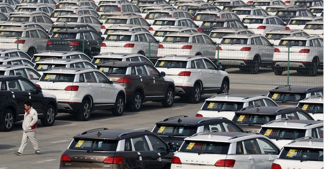 Chinese auto sales weaken sharply in March after tax rise