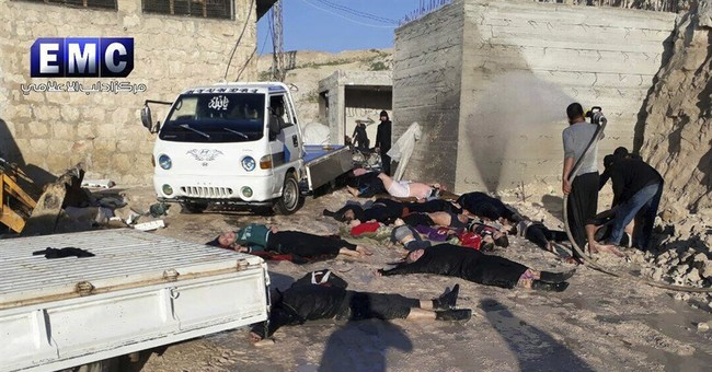 The Latest: Revised UN resolution on Syria attack circulated