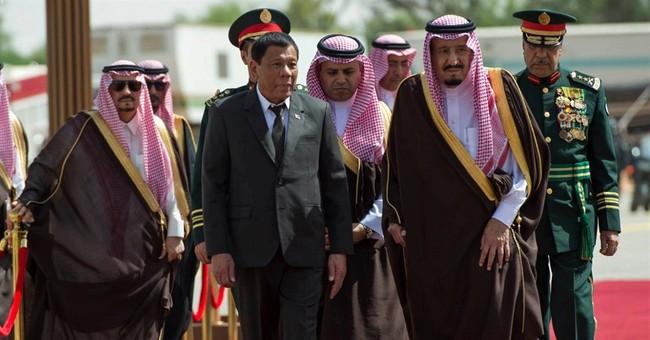 Philippine and Saudi leaders discuss labor, anti-narcotics