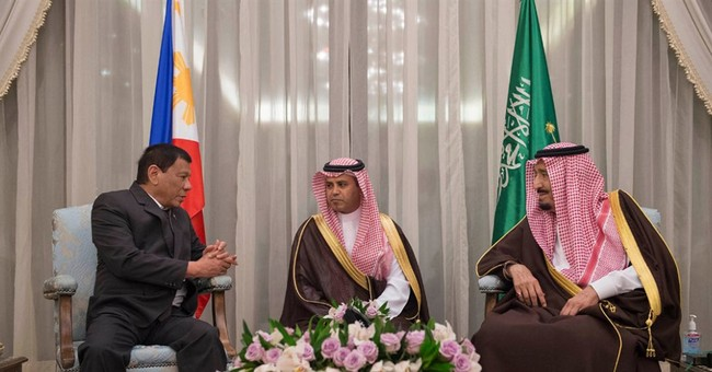 Philippine and Saudi leaders discuss labor, anti-narcotics