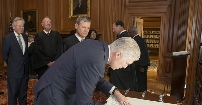Grunt jobs will come Justice Gorsuch's way at high court